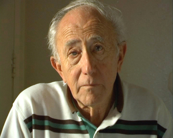 Gerhard Maschkowski, still image from the video of the interview for the Wollheim Memorial, 2007