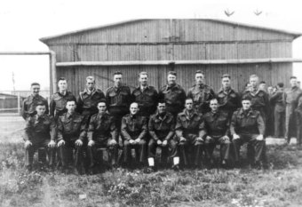 Group of British POWs in E715'© Fritz Bauer Institute (APMO Collection / Auschwitz-Birkenau State Museum)