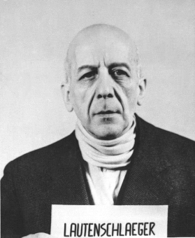 Carl-Ludwig Lautenschläger. Photo from the National Archives, Collection of World War II Crimes Records of the I.G. Farben Trial in Nuremberg'© National Archives, Washington, DC
