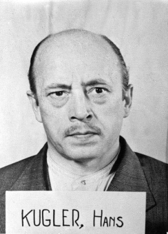 Hans Kugler. Photo from the National Archives, Collection of World War II Crimes Records of the I.G. Farben Trial in Nuremberg'© National Archives, Washington, DC