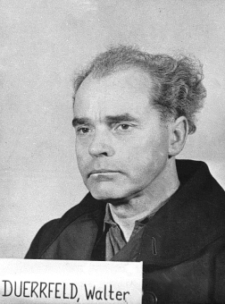 Walther Dürrfeld. Photo from the National Archives, Collection of World War II Crimes Records of the I.G. Farben Trial in Nuremberg'© National Archives, Washington, DC