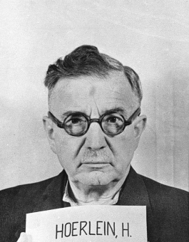 Philipp Heinrich Hörlein. Photo from the National Archives, Collection of World War II Crimes Records of the I.G. Farben Trial in Nuremberg'© National Archives, Washington, DC