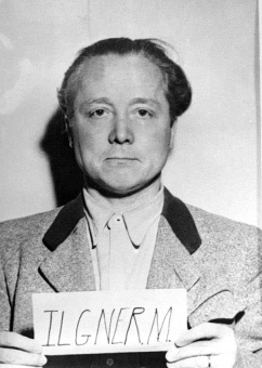 Max Ilgner. Photo from the National Archives, Collection of World War II Crimes Records of the I.G. Farben Trial in Nuremberg'© National Archives, Washington, DC