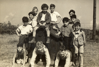 They could play every day:'© United States Holocaust Memorial Museum (Wollheim papers)