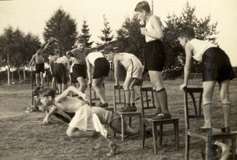 relay races—'© United States Holocaust Memorial Museum (Wollheim papers)