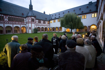 Guided tour of Eberbach Monastery'© Jessica Schäfer