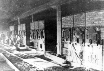 Crematoria II and III, Auschwitz-Birkenau'© National Archives, Washington, DC