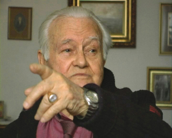 Jerzy Kowalewski, still image from the video of the interview for the Wollheim Memorial, 2008